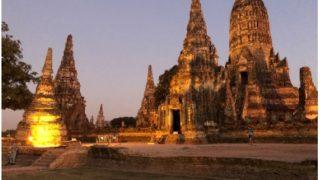 タイアユタヤ遺跡 タイ人が行く観光地はここ!恋愛パワースポットTVドラマロケ地