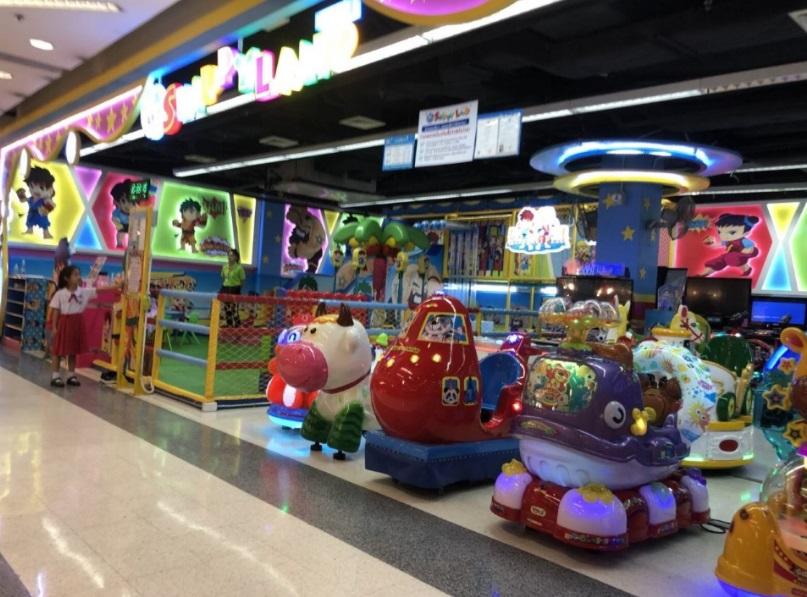 タイのゲームセンター 子供の遊び場についてレビュー