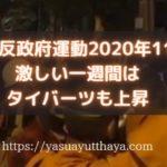 反政府運動2020年11月